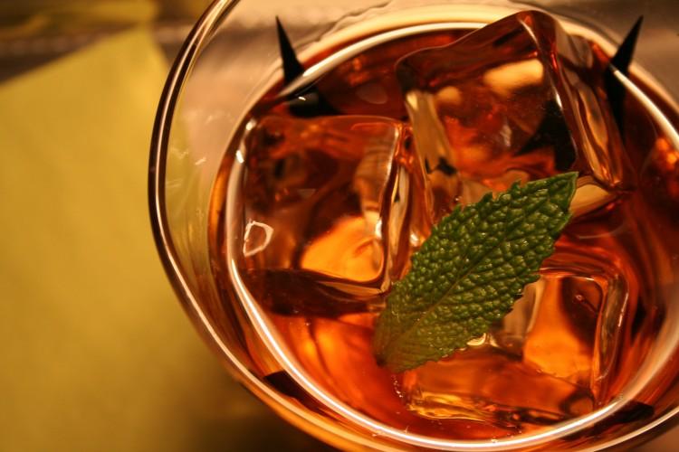 Brandy Stinger by Steve Schul, Cocktail Buzz.JPG